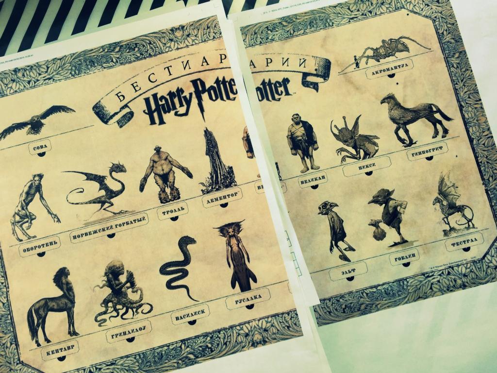Волшебные существа мира гарри поттера книга скачать